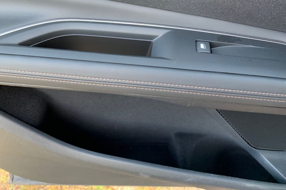 Peugeot has added cupholders in the front doors.