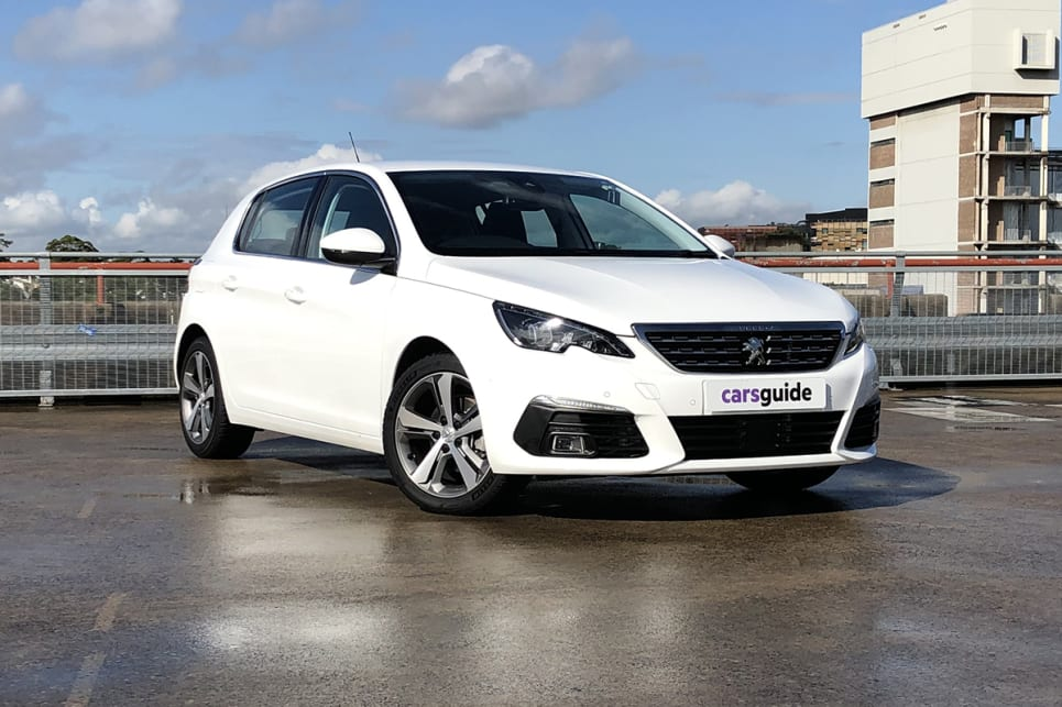 Part of the appeal of the Peugeot 308 Allure is its stylish design.