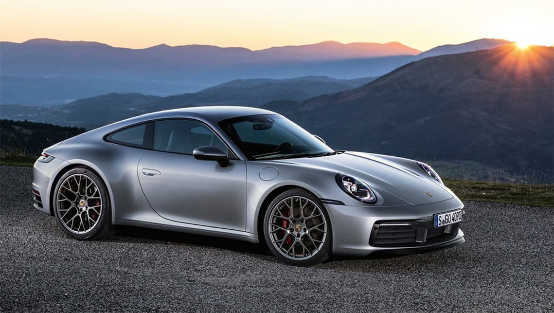 Launch pricing, before on-road costs, for the Porsche 911 Carrera 4S  starts at $281,800 for the Coupe.