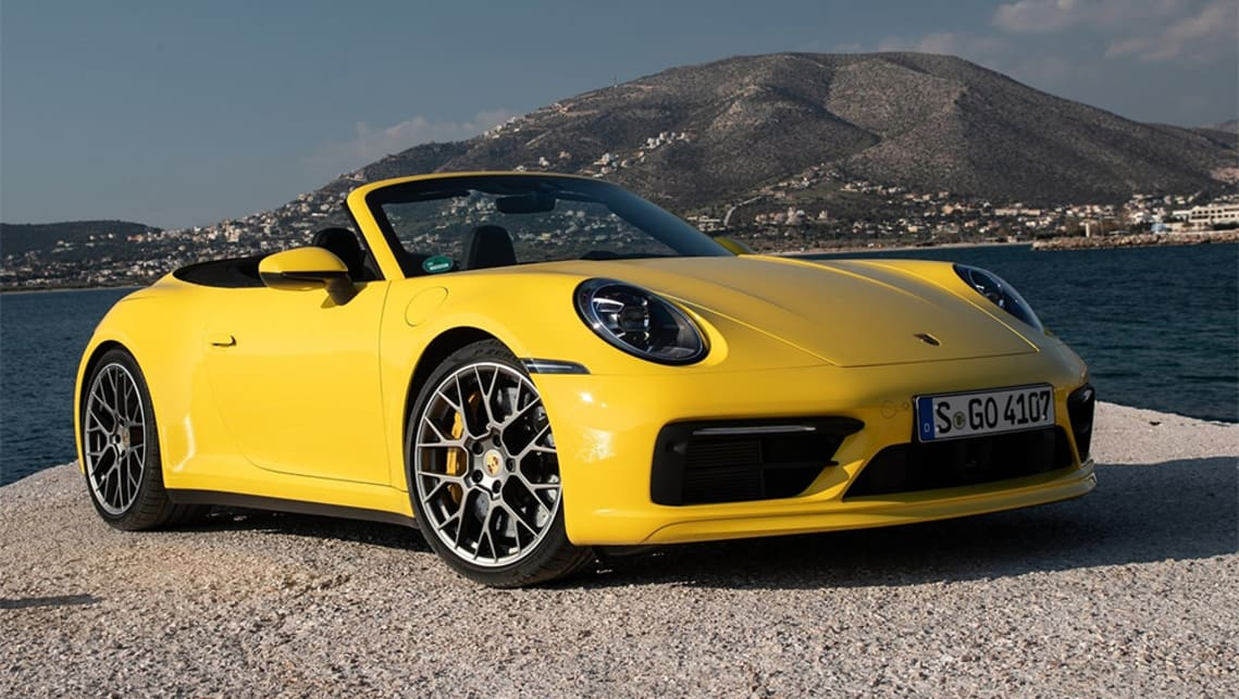 The Cabriolet version of the Carrera S launches at $286,500 before on-road costs.
