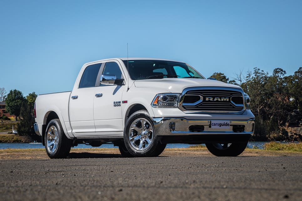 The diesel version of the Ram 1500 is an intriguing option – but is it the pick of the range? (image: Glen Sullivan)