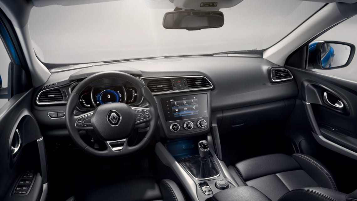 The Kadjar shares much of its components with the Nissan Qashqai.