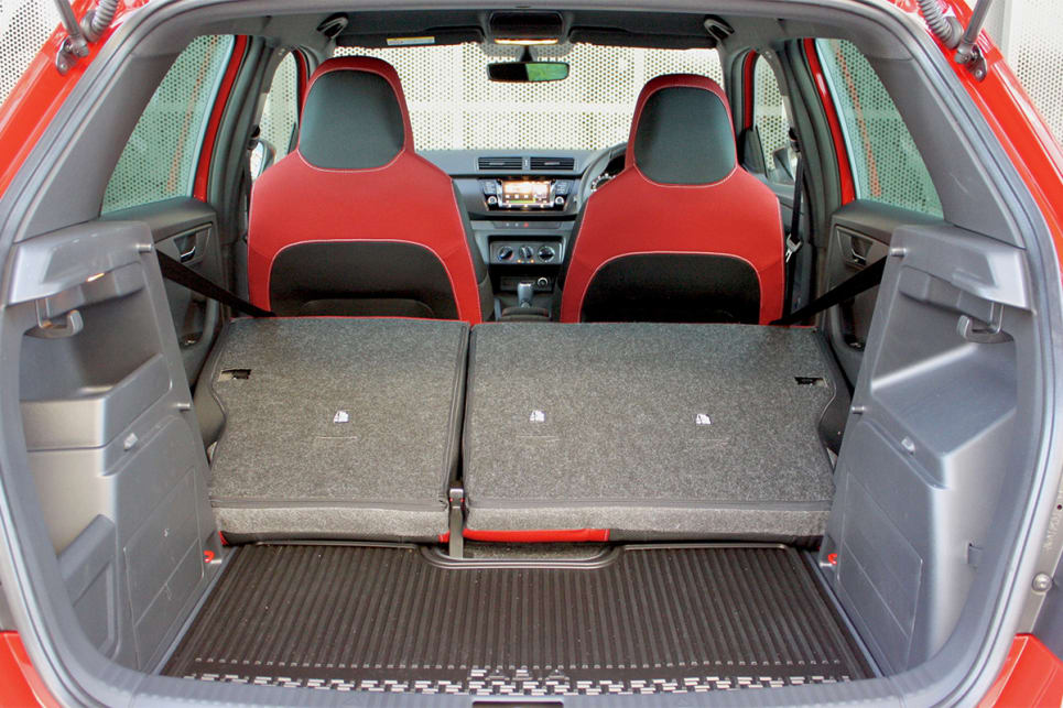 With the rear seats down, boot space grows to 1150 litres.