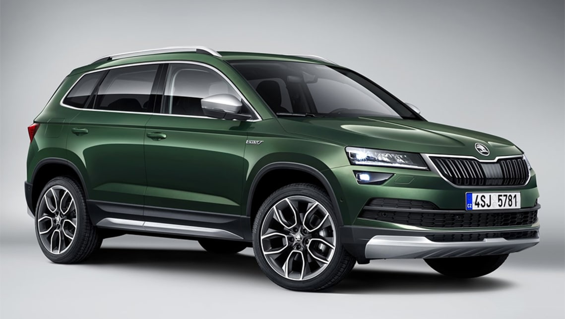 Skoda's Karoq has received the off-road treatment.
