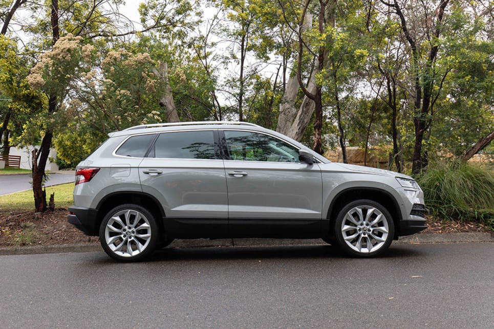 skoda karoq 2019 review the right size suv for your family carsguide