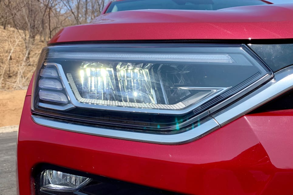 There are LED daytime running lights and LED headlights will be fitted to high-grade models.