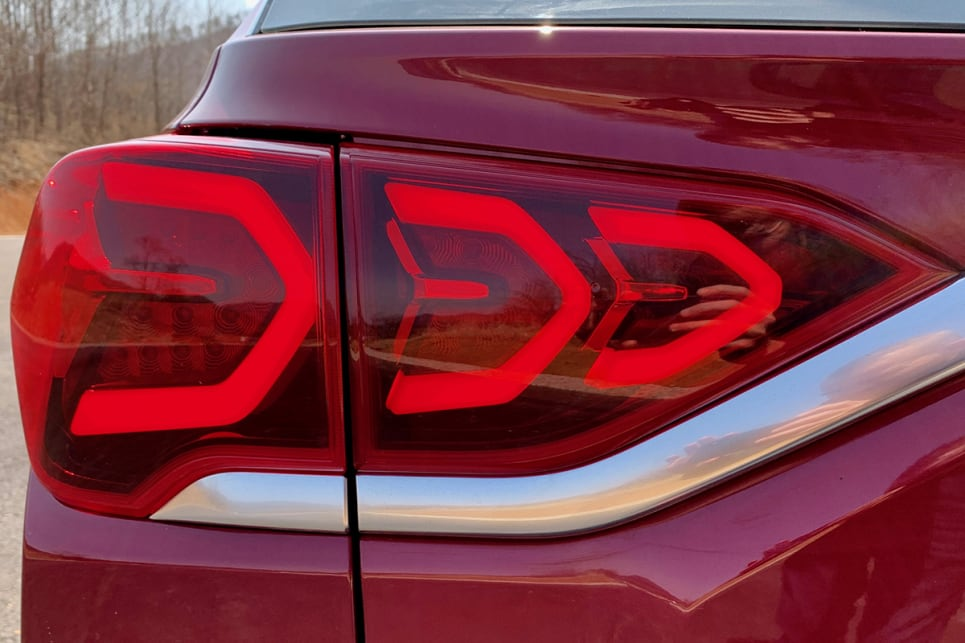Features LED tail-lights.