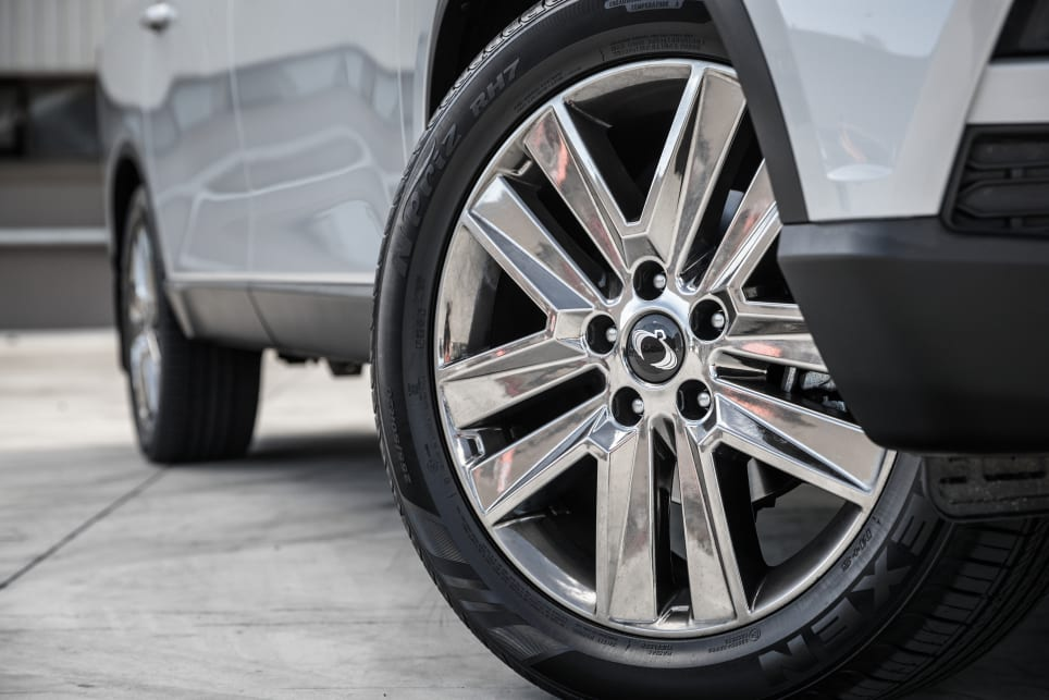 The Ultimate model scores 20-inch alloy wheels.