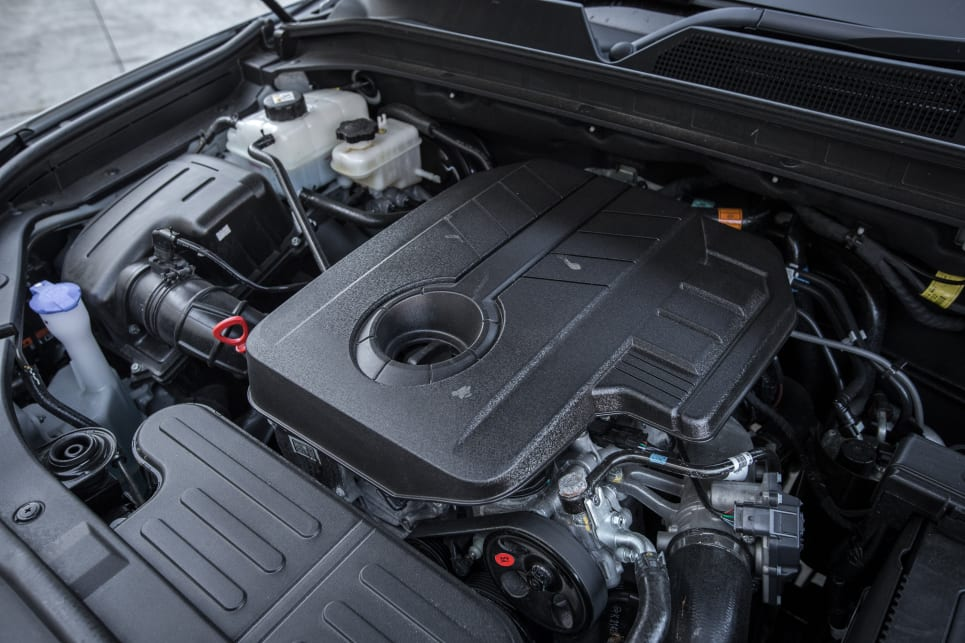 The Musso's 2.2-litre diesel makes 133kW/400Nm.