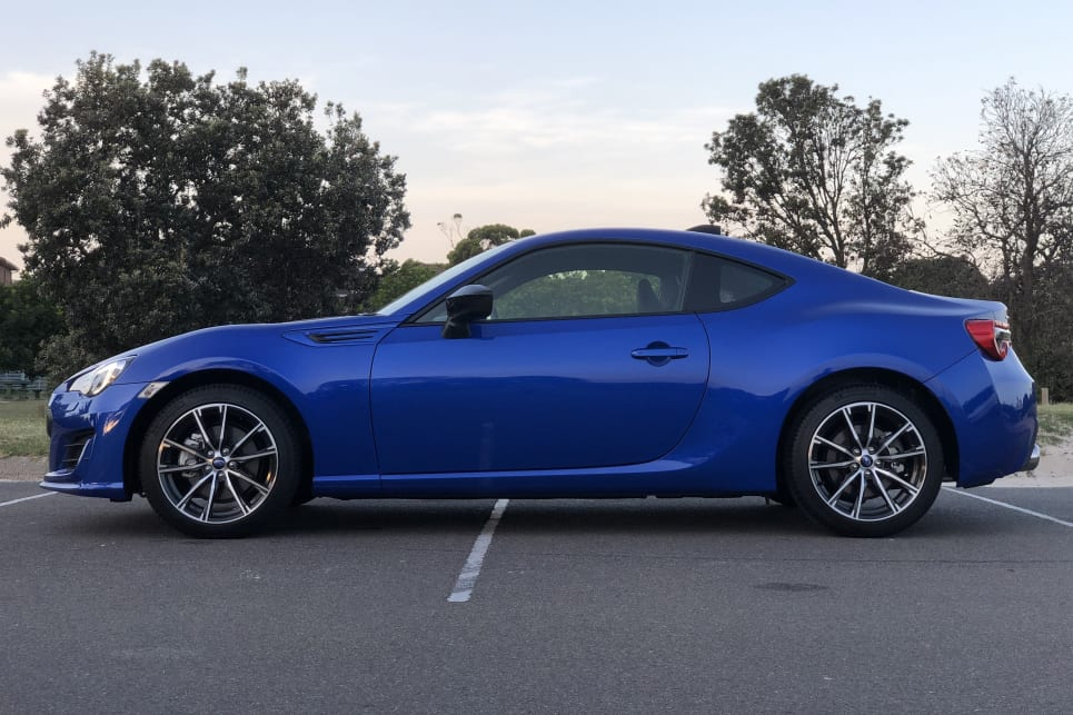 The people I talk to dismiss the car as a waste of time - what does the BRZ have that the 86 doesn't?