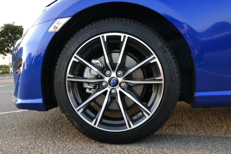 For your extra six grand over the 86 you score 17-inch alloys.