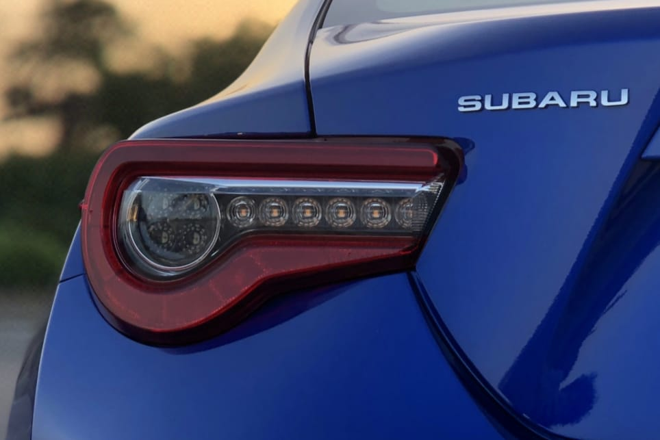Subaru has also resisted that polarising rear wing Toyota offers on the 86.