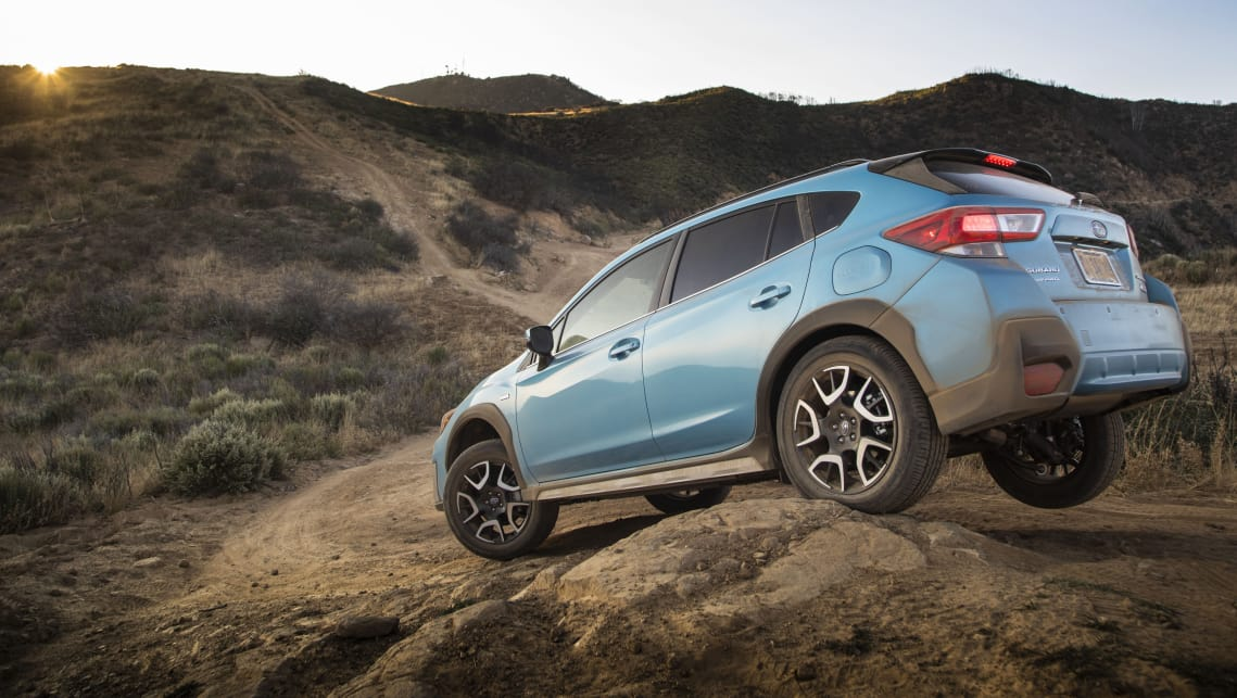 The plug-in hybrid XV gets a new colour, too, exclusively available in the Lagoon Blue.