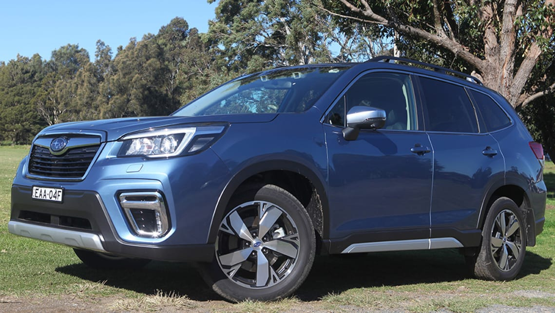 Subaru Forester 2 5i-S 2019 off-road review