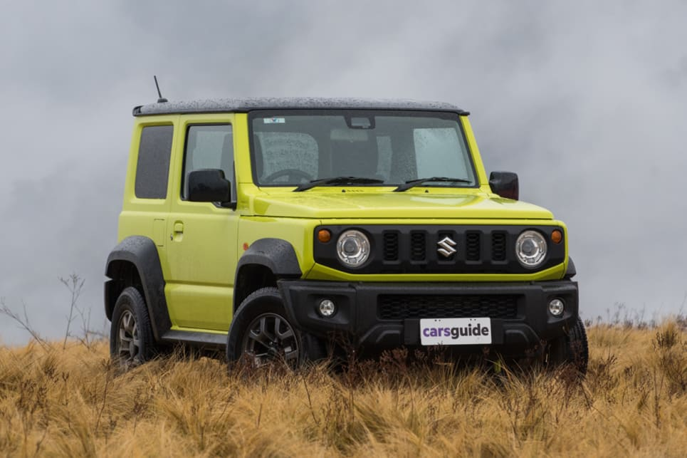 The Jimny is pretty well sorted out for off-roading in terms of design. (image: Brendan Batty)