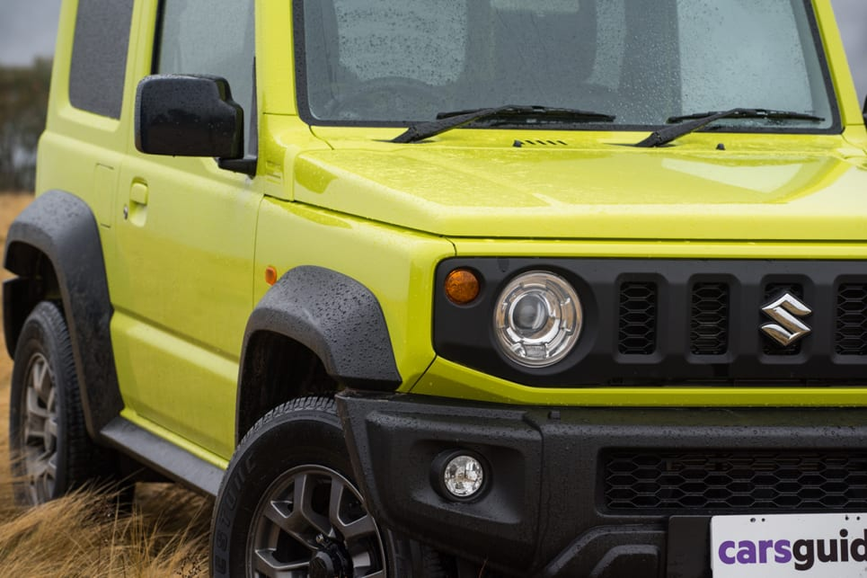 The auto Jimny, as tested, costs $25,990. It's by far the cheapest of this trio and it packs a fair bit into its standard features list. (image: Brendan Batty)