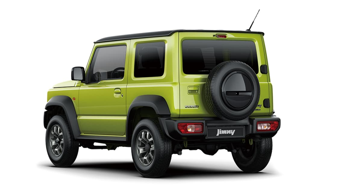 The all-new Jimny will arrive in Australia at the end of 2018, ahead of its Q1, 2019 on-sale date.