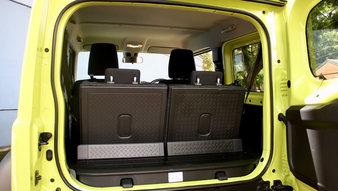 With the seats in place there is just 85L (VDA) of cargo capacity.