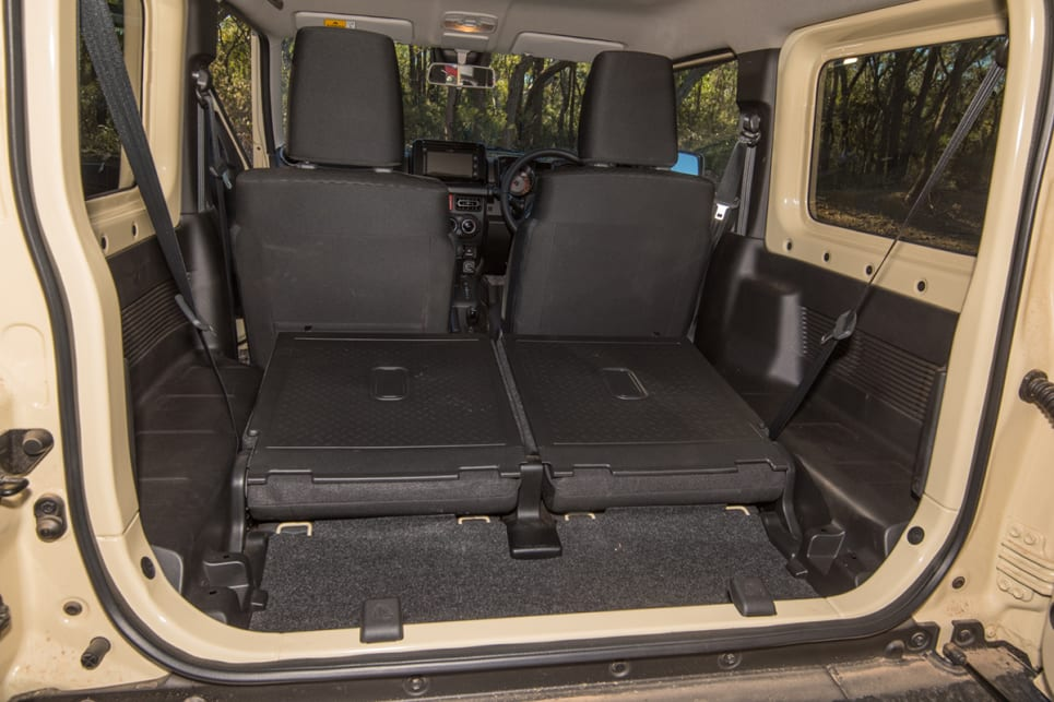With the seats down, cargo space increases to 830 litres VDA.