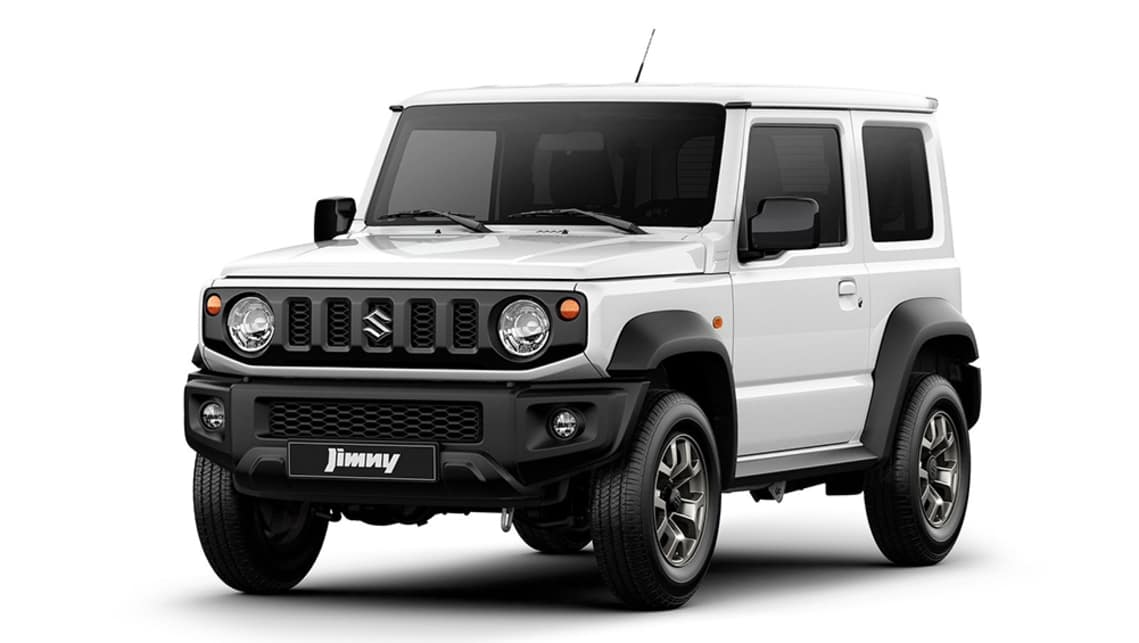 The Jimny rides on a ladder frame, with a part-time 4WD system with a low-range system.
