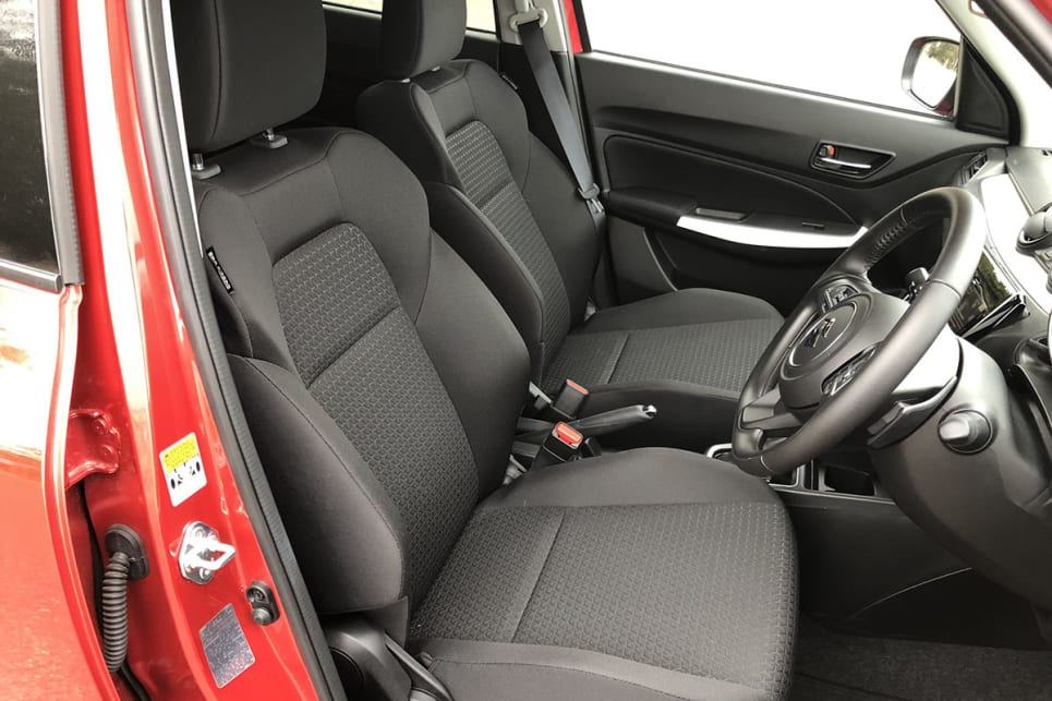 The front seats are excellent, and we're talking Citroen C3 levels of comfort here.