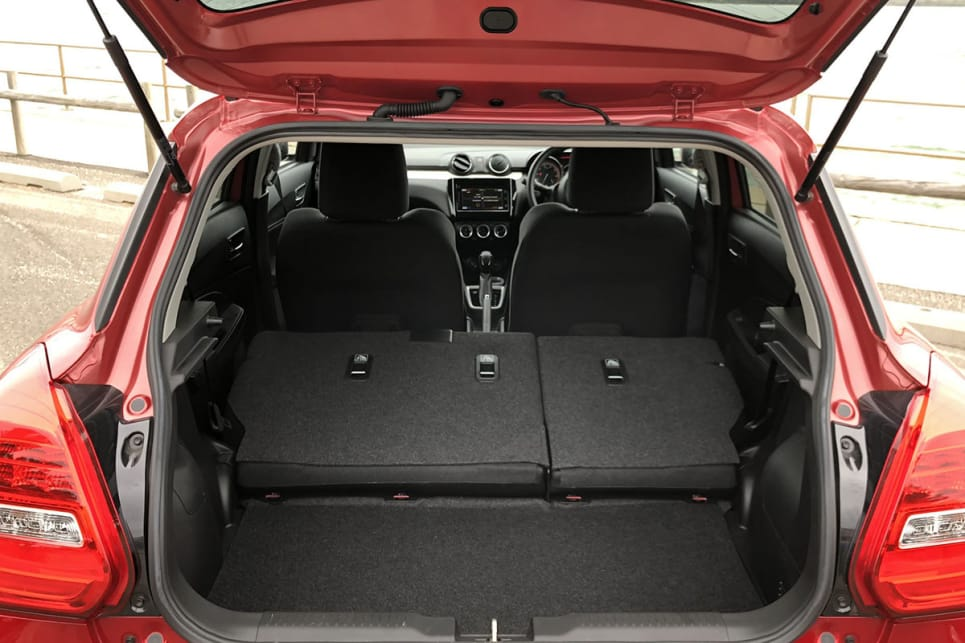 The boot increases to 556 litres with the seats down.