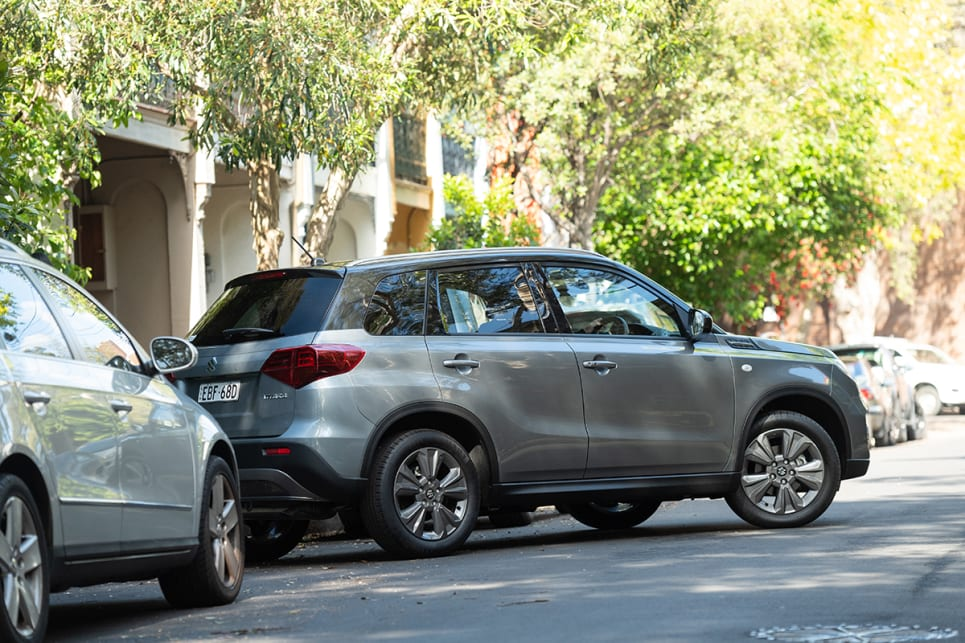 The SUV-like driving position meant it was easy to see out of, and therefore easy to park.