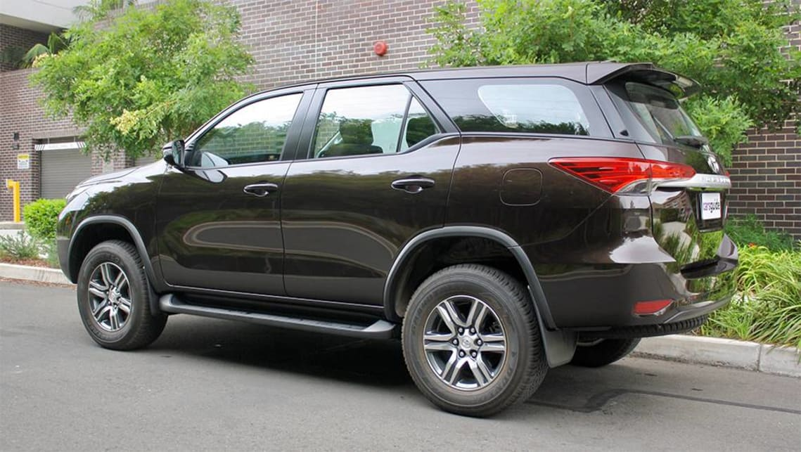 The Fortuner is aimed to appeal more to those who appreciate curves and sweeping lines.