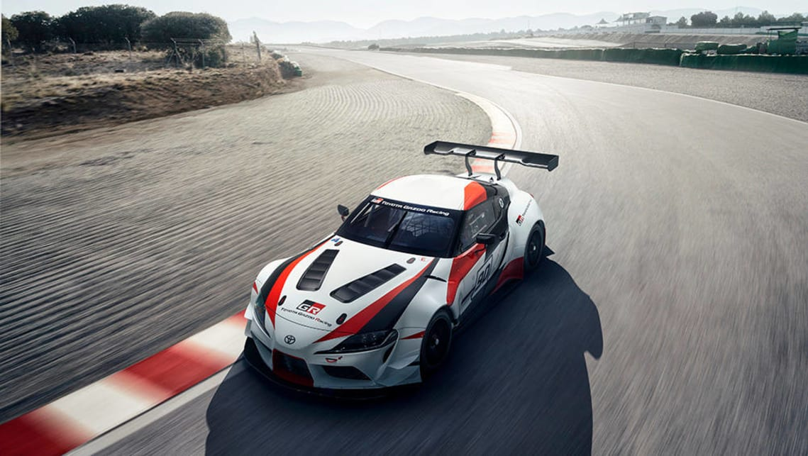 Officially titled 'Toyota GR Supra Racing Concept'.