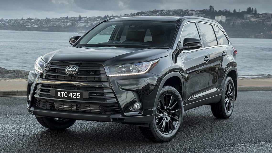 Toyota Kluger Black Edition 2019 Pricing And Specs Confirmed