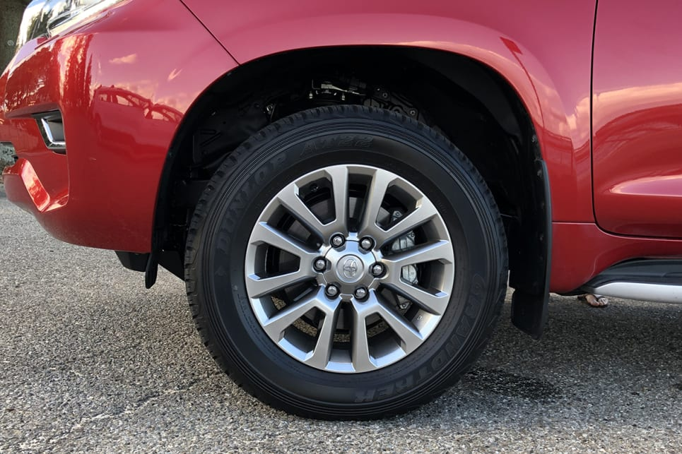 18-inch alloys are also standard.