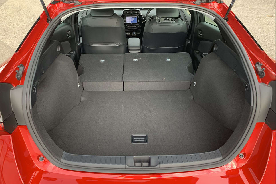 If you drop the rear seats you've got a very generous 1633 litres.