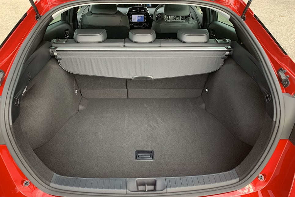 Boot space starts at a modest 343 litres.