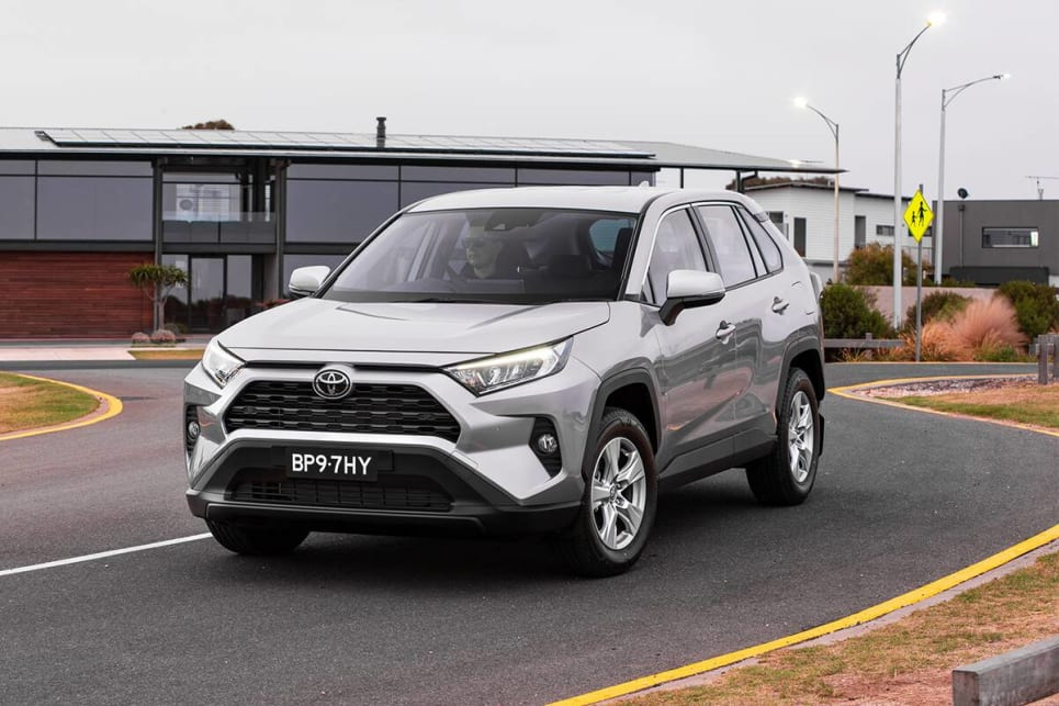 Kicking off the RAV4 line-up is the GX model.
