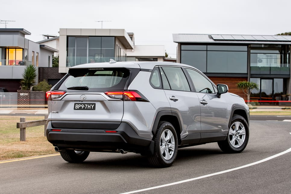 The GX gets 17-inch alloy wheels as standard.