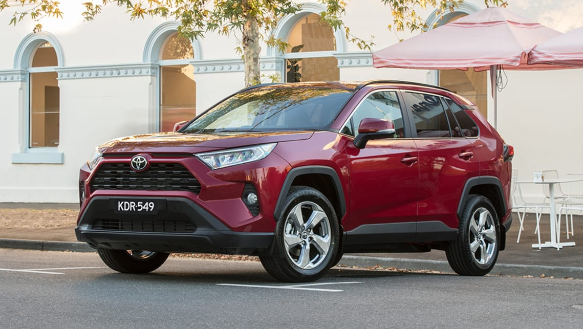 This is perhaps the most masculine RAV4 ever. (GXL variant pictured)