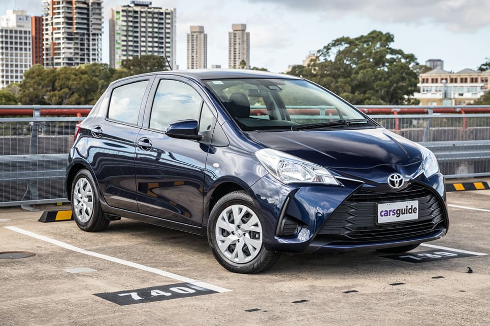 The current Yaris arrived on the scene in Australia in 2011