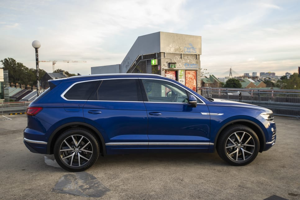 The Touareg might be too understated for some people's tastes