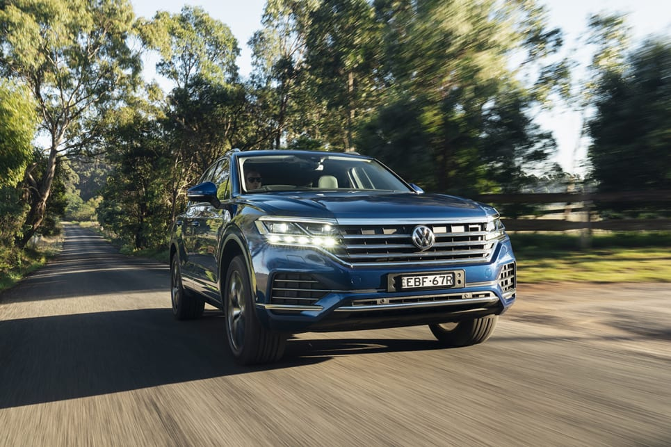 It's big and only has five seats, but the new Touareg is polished beyond expectation.