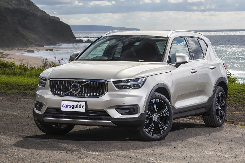 The Volvo XC40 T4 Inscription.