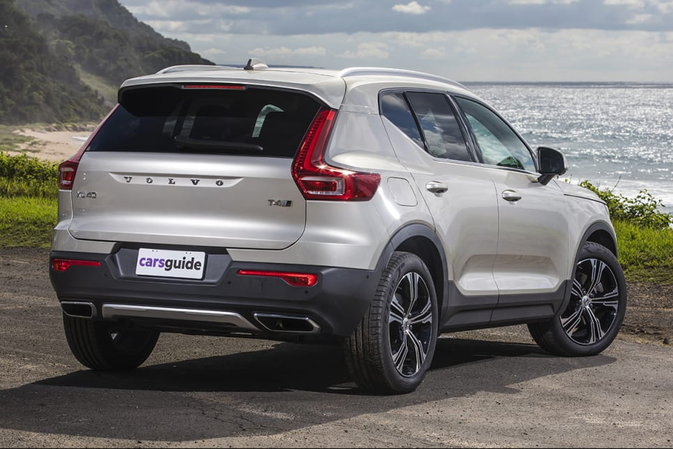 The Volvo XC40 has a charming, yet boxy, character.