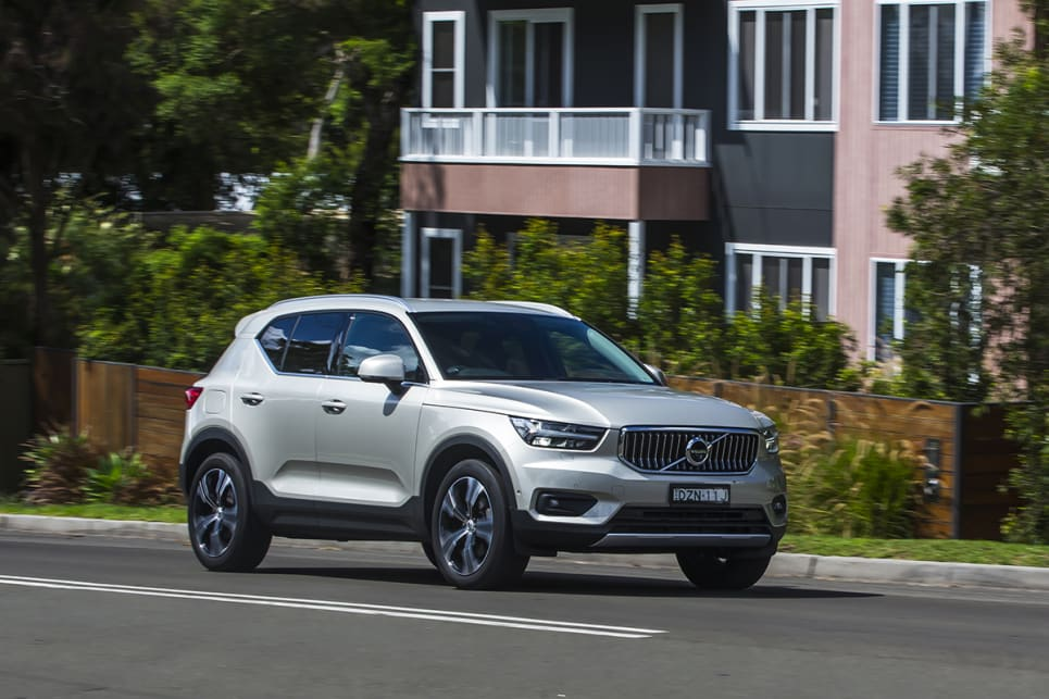 The XC40 is light and easy to manoeuvre, yet will hang on tight when pushed hard in the corners.