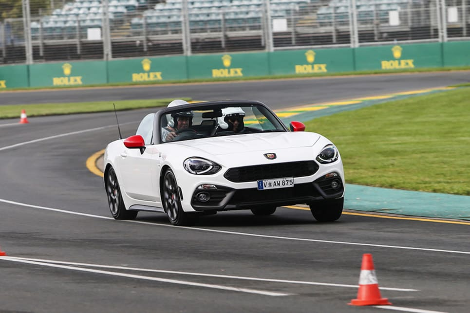 For a car based so heavily on the effervescent MX-5, the 124 Spider was surprisingly the least exciting on the track.