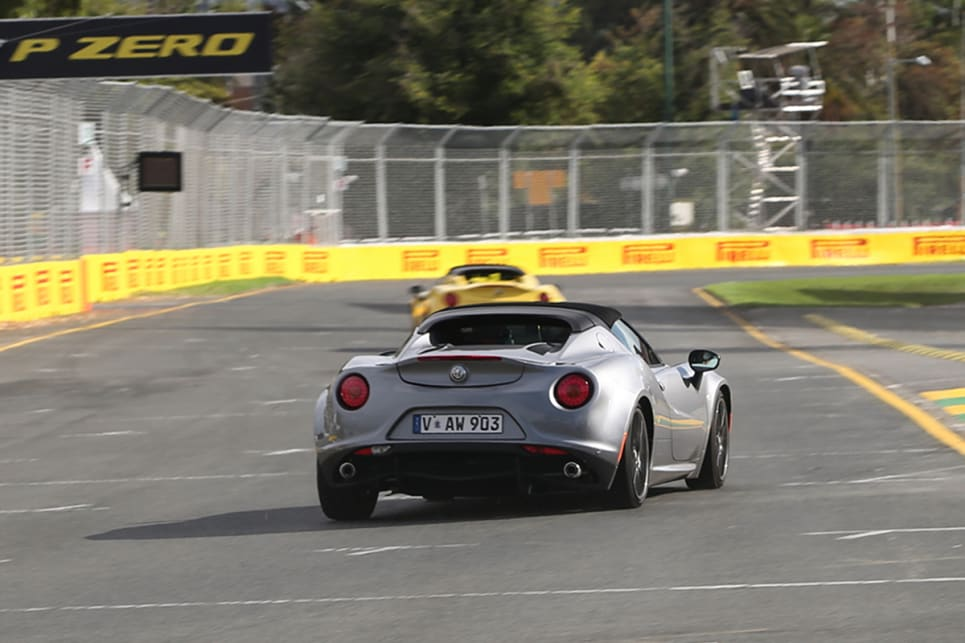 The 4C's rawness makes for more thrills than pretty much anything else on four wheels.
