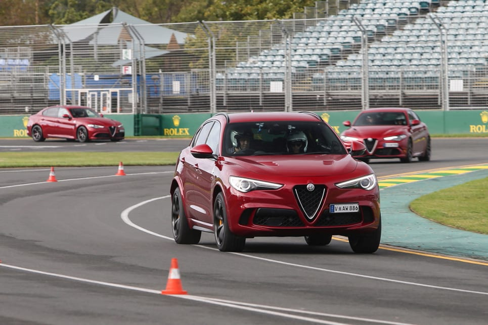 You'd think the Giulia Q would shame the SUV, but it didn't.