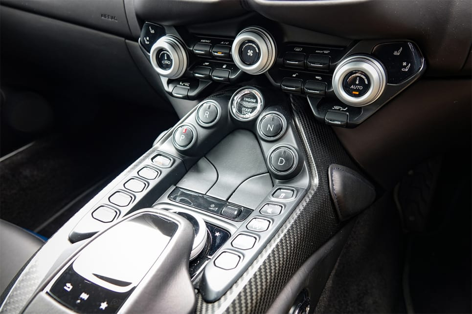 The Tech Pack adds a Mercedes-based touchpad controller.