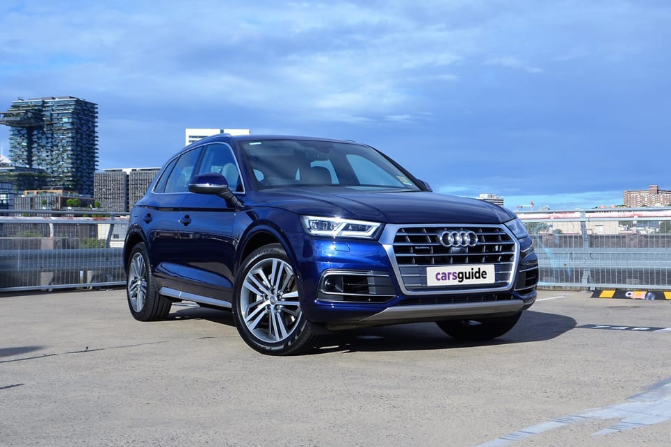 The Q5 is arguably the best looking of the all Qs.