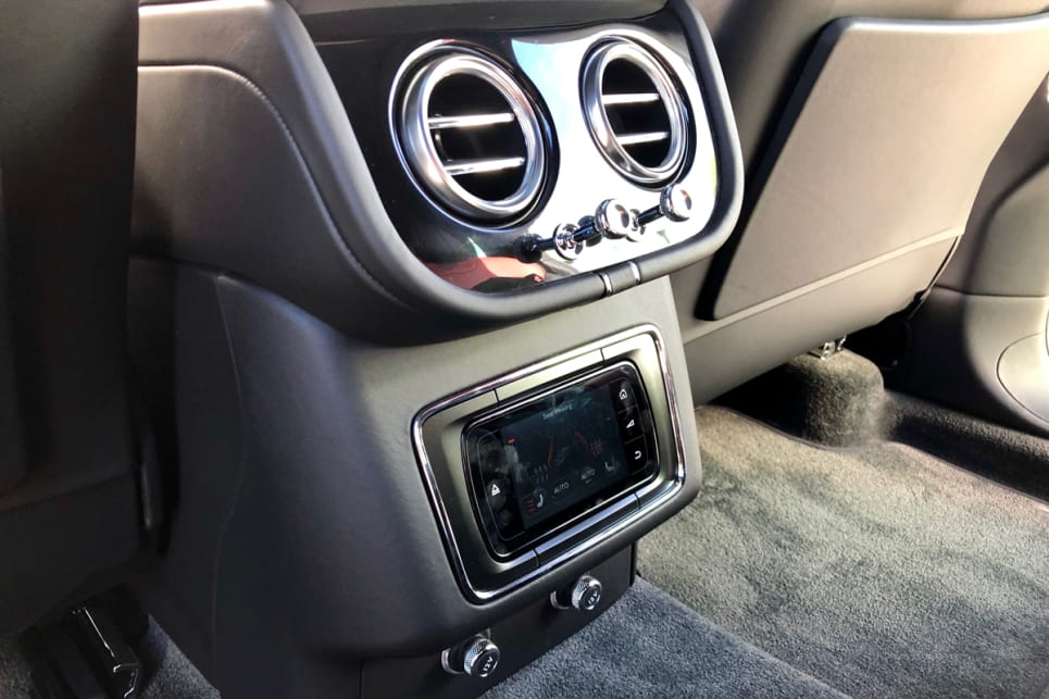 Standard features inside include four-zone climate control.