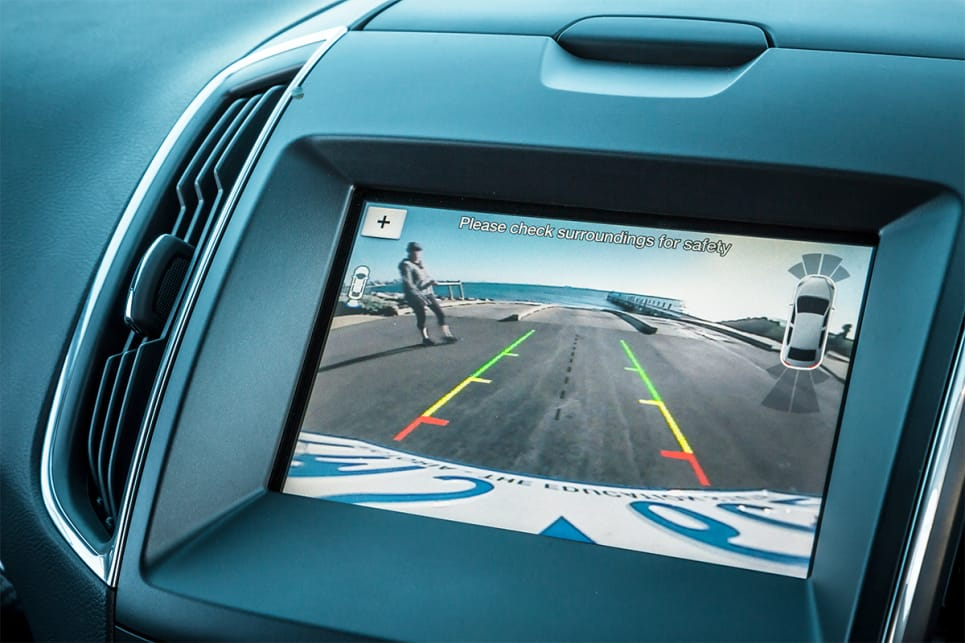The Endura also comes with a reversing camera with guiding lines.