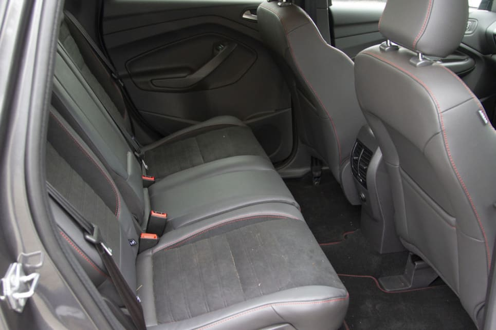 Rear seat space is generous, with good head and legroom and plenty of foot room.